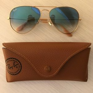 "Ray Ban ""Large Original Aviator"" 62mm Sunglasses"